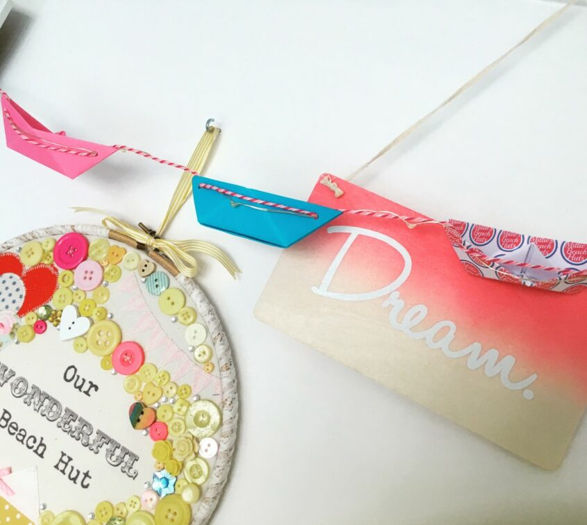 The Little Boathouse - boat bunting