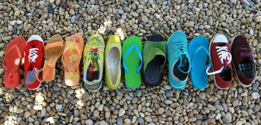 Things to do in Essex outdoor shoes flip flops