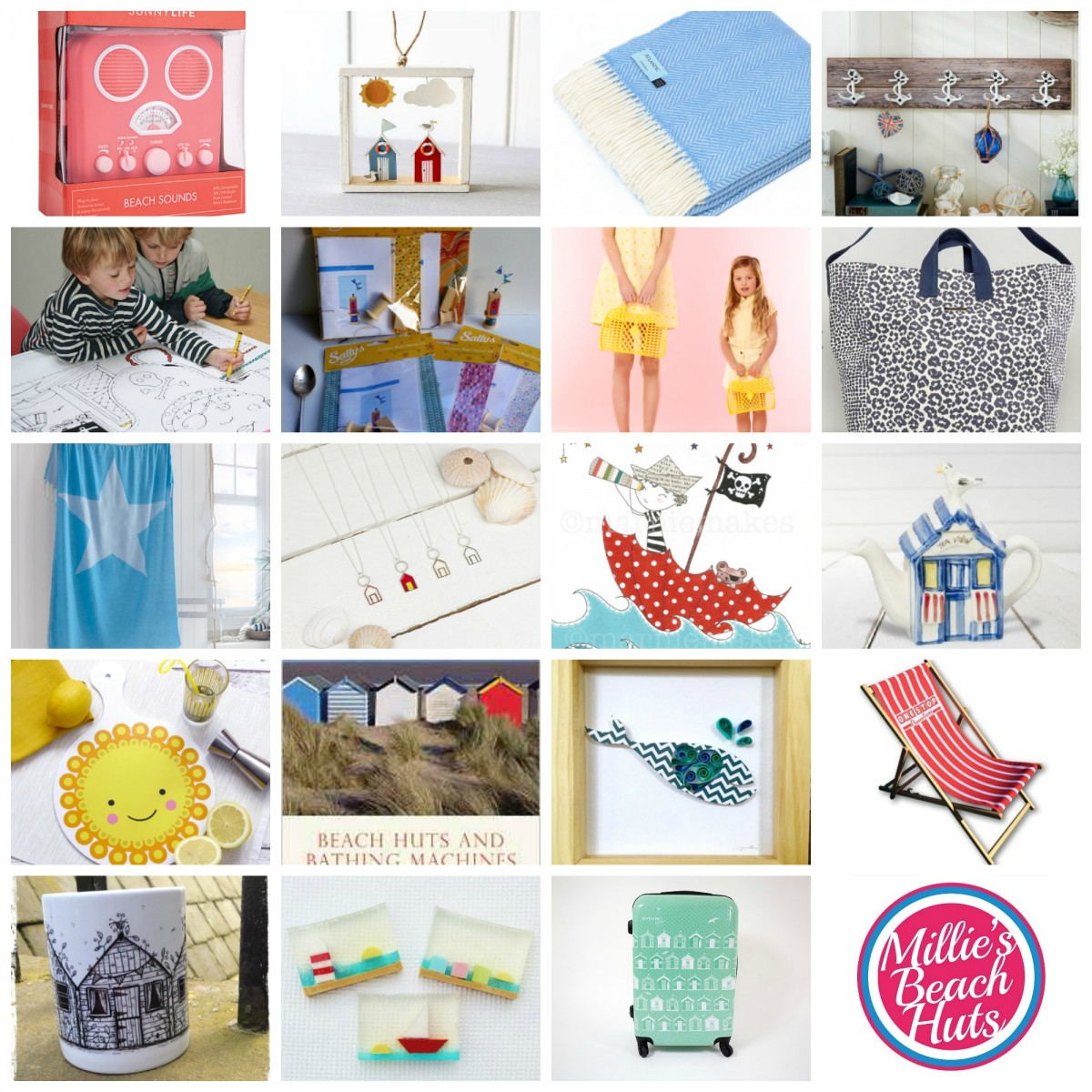 20 Gifts for a Beach Hut Fan - Christmas 2016