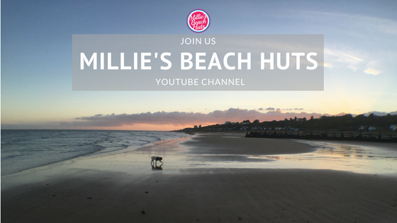 Millie's BEach Huts youTube channel