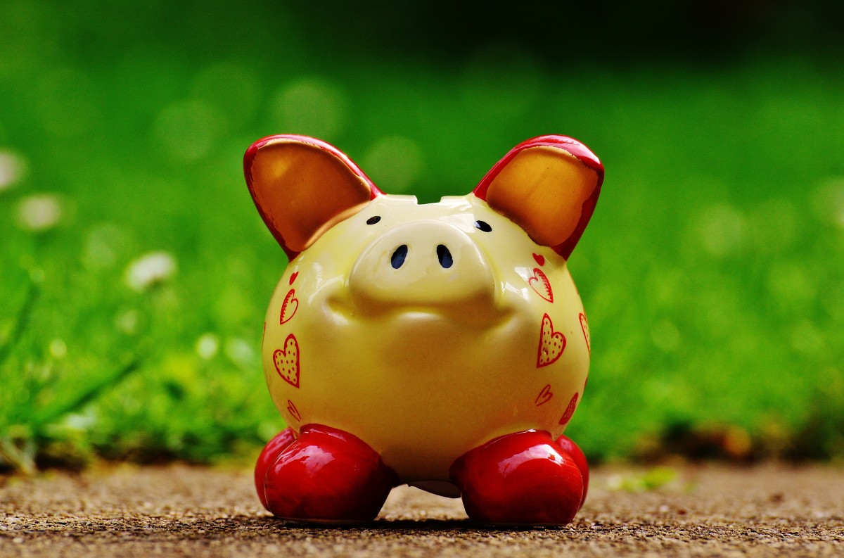 It's not all about the money piggy bank